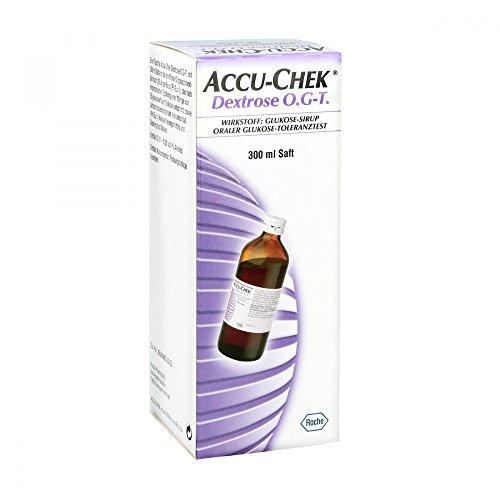 Accu Chek Dextrose O.G-T. Saft, 300 ml