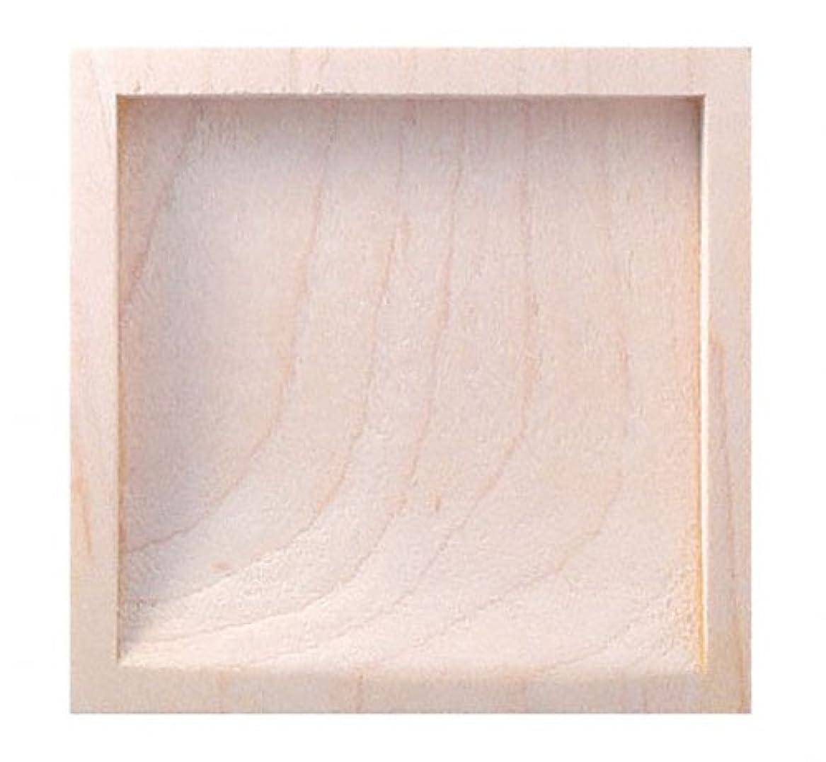 排他的適用済み電化するPW-20 白木片チリ角 生地 サイズ中 20個入