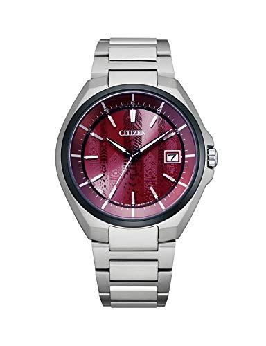 [CITIZEN] 腕時計 アテッサ JOUNETSU COLLECTION 世界限定1,700本 エコ・ドライブ電波時計 CB3016-51Z メンズ シルバー