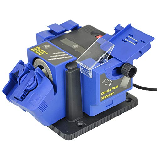 65W Multi Use Knife Sharpener Machine for Scissor Drill Bits Chisels Grinding Sharpening Tool by Denny International