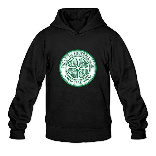 Men Celtic FC Custom Regular Size XXL Color Black Hoddie by Mjensen