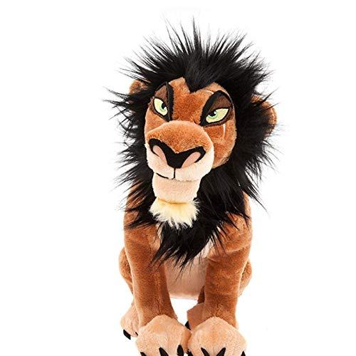 wyxin Animal The Lion King The Scar Peluche Giocattoli Cartoon Farcito Anime Regali per Bambini 34 Cm