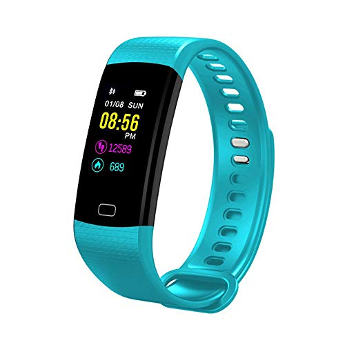 Oyznsb Uhr Smart Watches Smartwatch Armband Band Für Männer Mädchen Aktivität Sport Sport Fitness Tracker, Mint Green