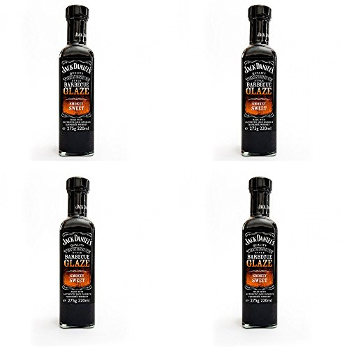 Jack Daniel's 4 Salsas Barbacoa GLASSA Dolce AFFUMICATA Sweet Smokey Glaze 275 gr