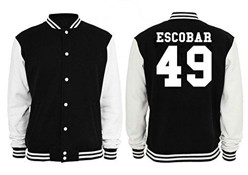 Escobar 49 College Vest Negro
