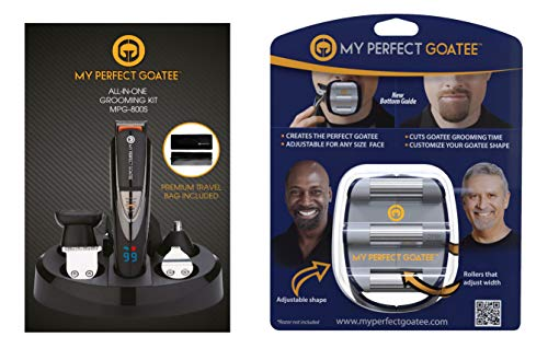 My Perfect Goatee®   Men's Goatee & Beard Trimmer   Plus Goatee Shaping and Shaving Template