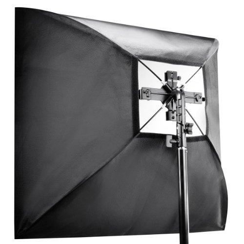 Walimex Blitzhalter Set inkl. Softbox (4-fach, 90x90cm)