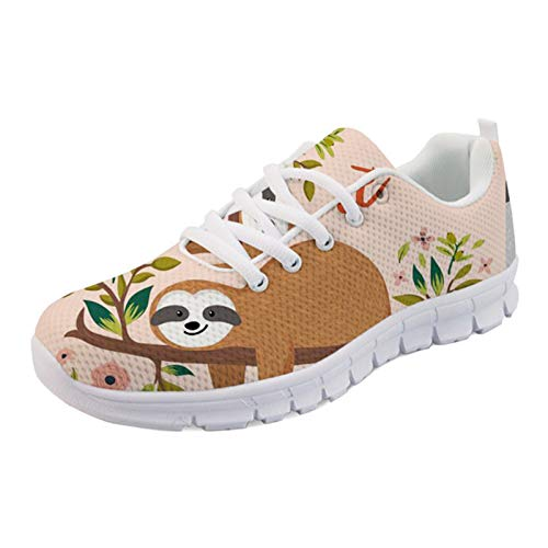 Woisttop Zapatillas para correr y caminar para mujeres y hombres, cómodas, transpirables, fáciles de caminar, informales, color, talla 39 EU