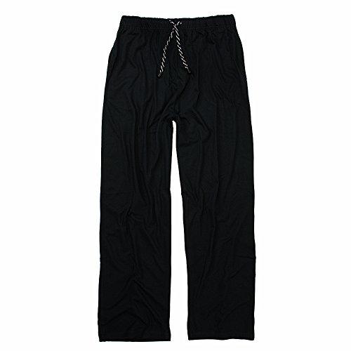 ADAMO Pyjamahose Hausanzughose Übergröße dunkelblau, XL Größe:6XL