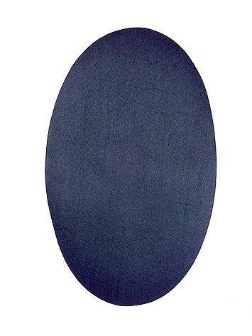 Haberdashery Online 6 Rodilleras TERMOADHESIVAS Azul Marino Claro, Color 1C. Rodilleras para Proteger Pantalones