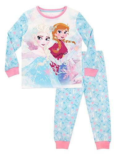 Disney - Pijama para niñas - La Reina del Hielo - Frozen - Azul - 2-3 Años