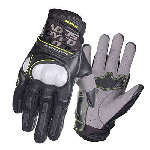 Qianliuk Off-Road Fahrrad Motorrad Handschuh Atmungsaktives Injection Shell Schutz Moto Racing Motocross Handschuhe XXL