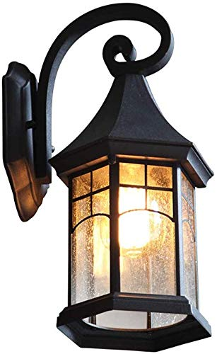 Beautiful Home Lighting/In de vrije wandlamp waterdichte tuinlamp Europese retro balkon buitenwand balkon trapwandlamp industriële wandlamp buitenverlichting huis E27 fitting, gang