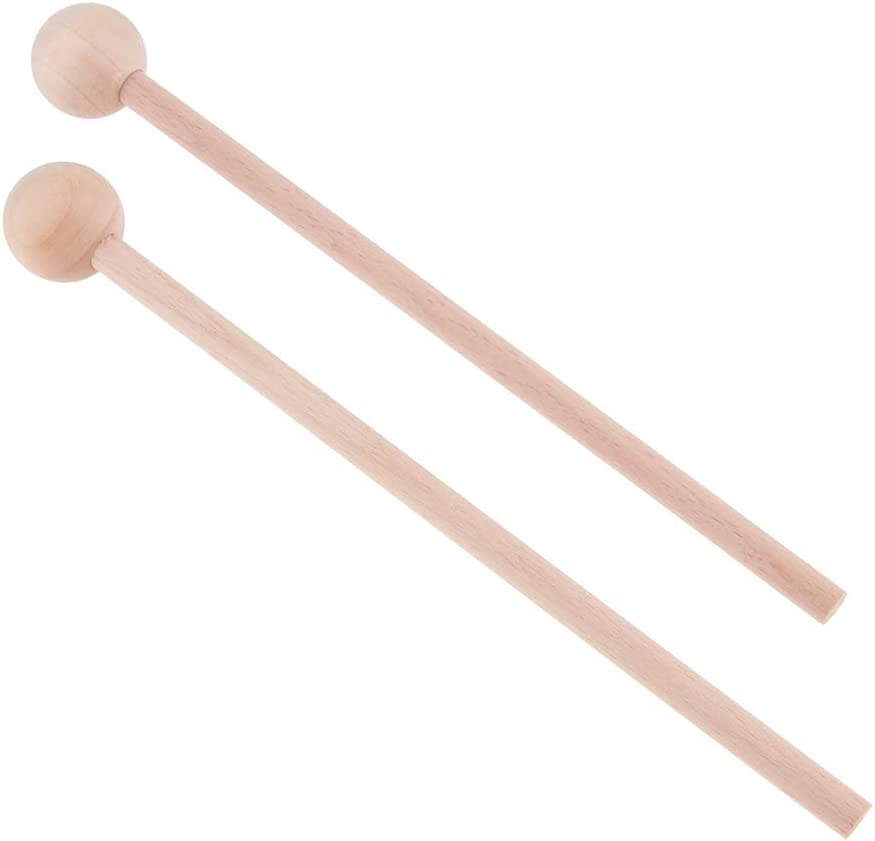 chiwanji 1 Pair of sale Wooden Percussion Drums Mallets Tongue Instru Ranking TOP1