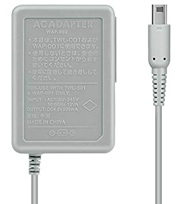 Charger AC Adapter for [Nintendo 3DS Compatible with New 3DS 3DS XL 2DS 2DS XL DSi DSi XL] Replacement Power Supply Wall Charger Power Cord Travel Charging Cable for Battery