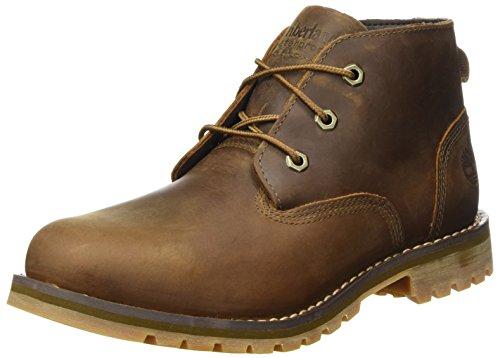 Timberland Herren Larchmont Waterproof Chukka Boots, Braun (Dark Brown Full Grain), 43 EU