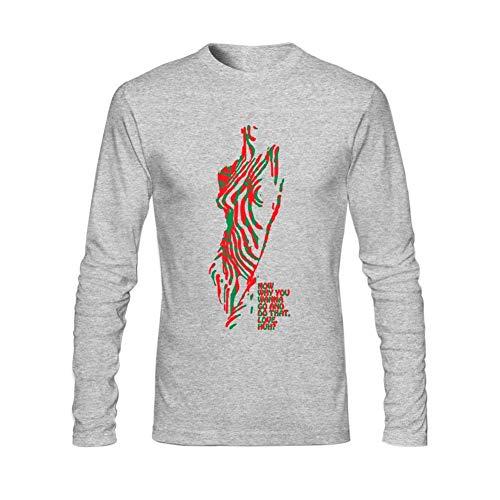 Hengtaichang Herren A Tribe Called Quest Art Logo Langarm T-Shirt mit O-Ausschnitt