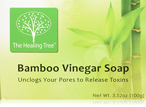 Bamboo Vinegar Face Cleansing Soap - Great For Problematic Or Oily Skin - 3 Pack Of Bars