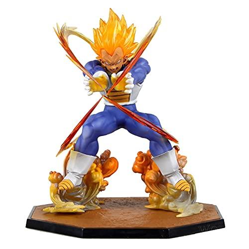 Dragon Ball Super Vegeta Anime Figura PVC Super Saiyan Figura De Acción 15Cm, GT Figma Battle Brinquedos DBZ Juguetes Juguetes Muñecas Regalo