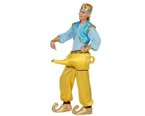 Atosa 23007 Costume Genio Della Lampada, Adulto T3 Xl