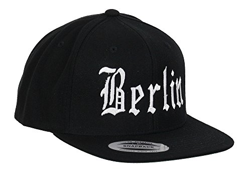 Yupoong Berlin Snapback City Black - One-Size