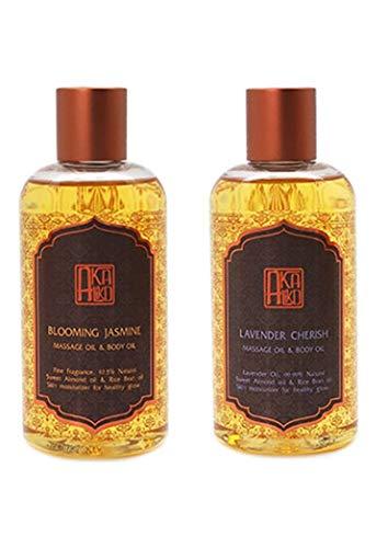 Great Price! AKALIKO Body Oil and Massage Oil Set 2.