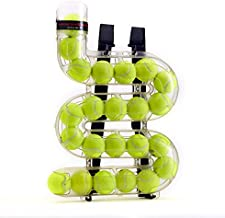 """SPEEDFEED Tennis Ball Feeder Training Tool Convenient Ball Storage Device   Alternative to Stationary Ball Baskets   Holds 23 Tennis Balls   Made in USA   20.25"""" x 14"""" x 3.25"""