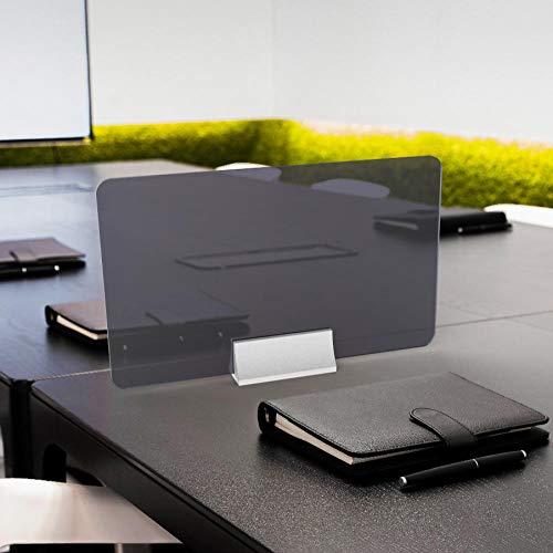 CYGJ - Protector de pantalla para tiendas (50 x 30 cm), color gris