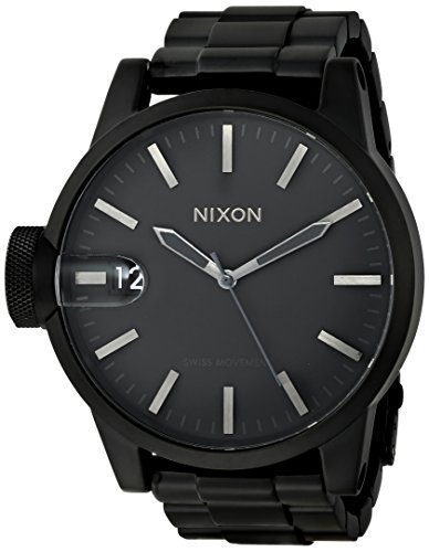Big Sale Nixon Chronicle Stainless Steel Mens Watch A1981028