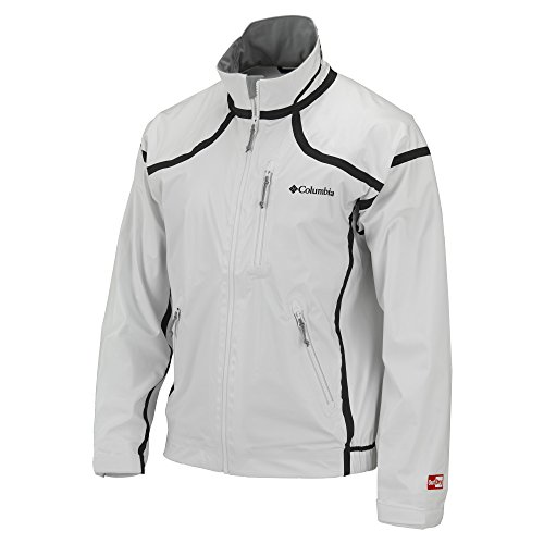 Great Deal! Columbia Outdry Extreme Downpour Jacket, White, Small