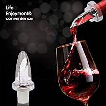 Wine Pourer - Wine Pourers Plug Stopper Bottle Vinegar Red Guide With Lid Pc872495 - Bird Sleeve Game Through Tiger Sealer Needle Thrones Fresh Gold Stainless Wine Elephant Animal Moose P