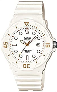 Casio Girls Quartz Watch, Analog Display and Resin Strap