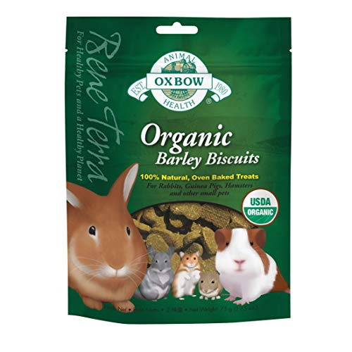 Oxbow Organic Rewards Barley and Hay Biscuit...