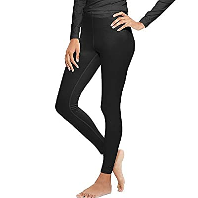 Champion Duofold Women's Varitherm Base-Layer Thermal Pants_Black_L by