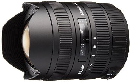 Sigma 8-16mm f4.5-5.6 DC Lens for Sony Digital SLR Cameras with APS-C Sensors
