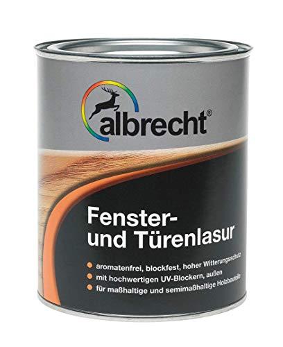 Albrecht Fenster- Türenlasur Alkydharz Außen 0,75 Liter Farbwahl, Farbe:Kiefer