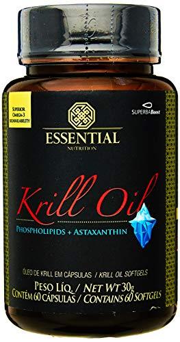 Krill Oil - 60 Cápsulas - Essential Nutrition, Essential Nutrition