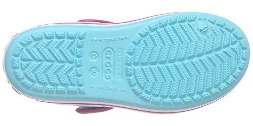 Crocs Unisex Kids Crocband Kids'' Sandal, Pool Candy Pink, 12 UK Child