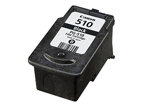 Canon Tintenpatrone PG-510 schwarz black - 9 ml für PIXMA Drucker ORIGINAL