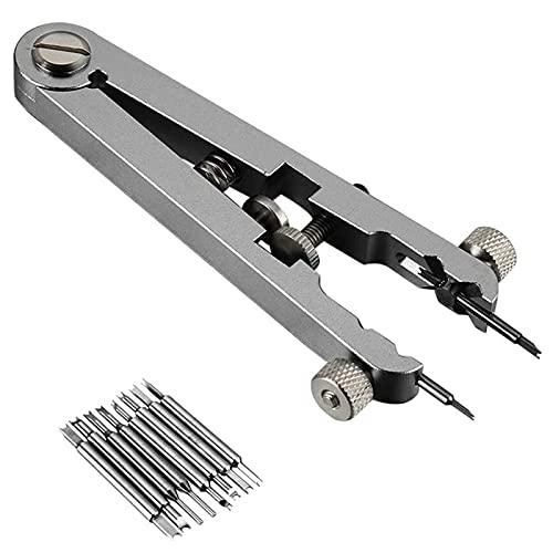 ZXZCHGN Kit de herramientas de reparación de relojes, herramienta de removimiento de barra de resorte estándar de barra de primavera, kit de herramientas de la barra de la barra de resorte, reloj de l