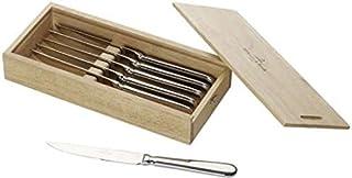 Villeroy & Boch Oscar Lot de 6 couteaux à pizza et à steak en acier inoxydable, passe au lave-vaisselle