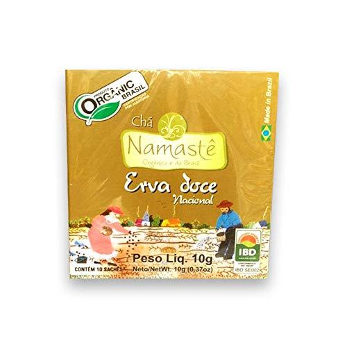 Chá de Erva Doce Nacional Orgânico 10 Saches Namastê