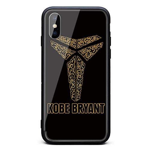 Kobe Bryant - Funda protectora de cristal templado para iPhone 11, 11Pro y 11pro Max, resistente a caídas y duradera Kobe D- 11 Pro