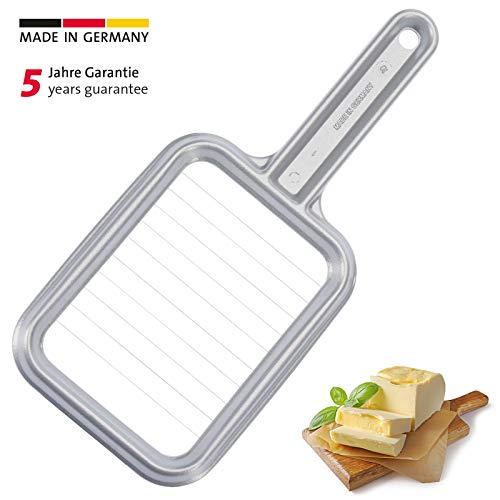 Westmark Butterteiler/-portionierer, Aluminium/Rostfreier Edelstahl, 25,8 x 11,5 x 1,3 cm, Portionetto, Grau, 32002260