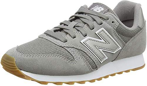 New Balance Damen 373 Sneaker, Grau (Marblehead/White Dag), 36.5 EU
