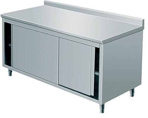 Arbeitsschrank, 1800x600x850mm, CNS 18/10,