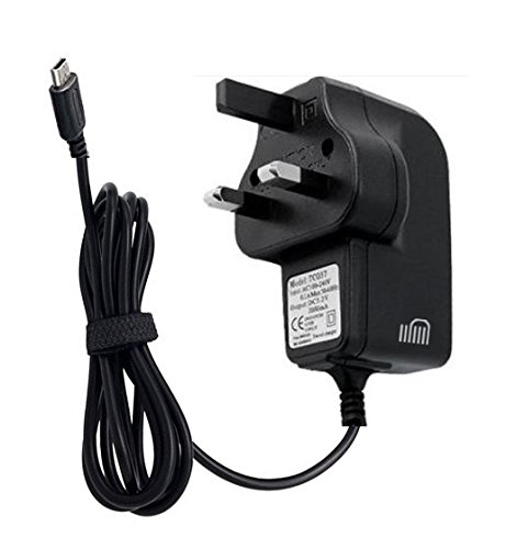 Ameego - Caricatore CE Fast Mains, 3 pin, per Nintendo DS Lite NDSL