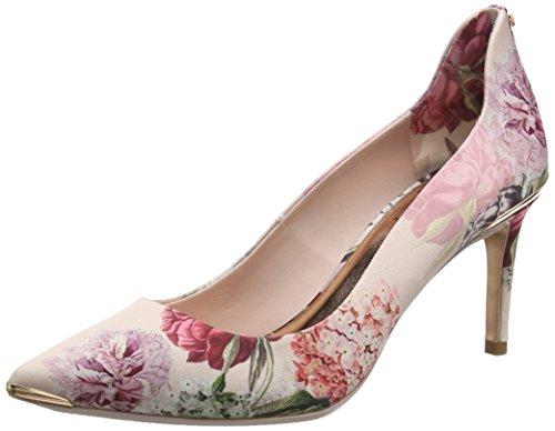 Ted Baker Vyixynp 2, Zapatos de tacón con Punta Cerrada para Mujer, Rosa (Palace Gardens #ffc0cb), 39 EU
