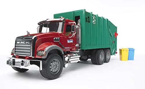Bruder 02812 - MACK Granite Müll-LKW, Müllabfuhr