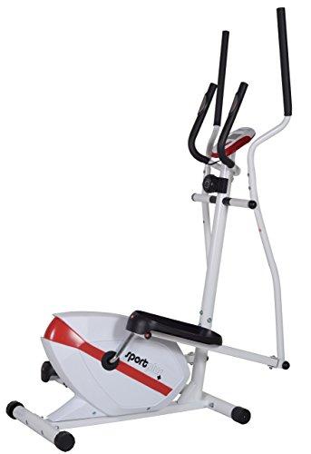 SportPlus Bicicleta Elíptica Fitness – Cross Trainer con Sistema de Frenos Magnéticos...